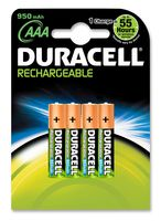 Rechargeable Battery, Pack of 4, 1.2V