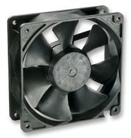 DC FAN, AXIAL, 119MM x 119MM x 38MM, 24V