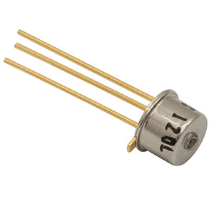 InGaAs Photodiode, 300 ps Rise Time, 800-1700 nm, Ø0.12 mm Active Area